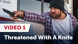 Download Threatened With A KNIFE In A Campground: Proving Ground 13 - Video 1 Video