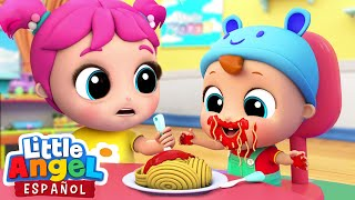 Download Buenos Modales al Comer | Canciones Infantiles | Little Angel Español Video