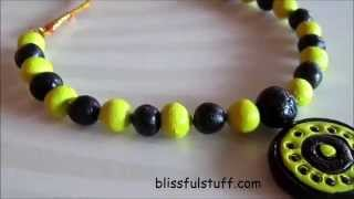 Download DIY- How to make simple terracotta necklace | No bake terracotta jewellery Video