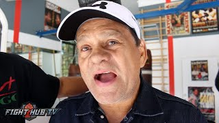 Download Roberto Duran ″Golovkin can take a hit! We dont know if Canelo can! The most intelligent will win!″ Video