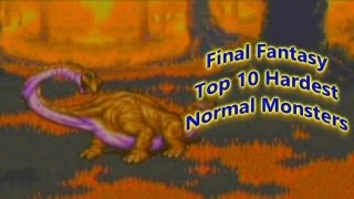 Download Final Fantasy Top 10 Difficult Normal Battles Video