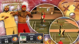 Download NBA 2K17 MyPARK - MY RETURN WAS LIT!! HE YELLING OUT ″CLAMPERS″ & WE GOT DUNKED ON!! Video