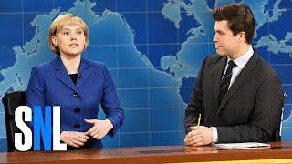 Download Weekend Update: Angela Merkel on Donald Trump - SNL Video