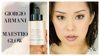 Download GIORGIO ARMANI MAESTRO GLOW FOUNDATION REVIEW Video
