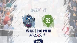 Download USL LIVE - Colorado Springs Switchbacks FC vs Seattle Sounders FC 2 7/29/17 Video