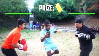 Download I Setup a Boxing Tournament for the iPhone 11 at School! HE GOT KNOCKED OUT!?! Video