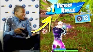 Download FAMOUS Footballers You Dont Know Play Fortnite! (Neymar, Griezmann, Ninja) Video
