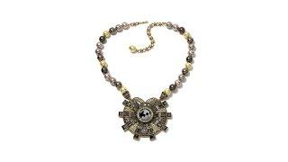 Download Heidi Daus ″The Aristocrat″ Beaded Crystal Drop Necklace Video