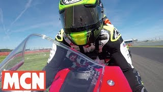 Download A pillion lap of Silverstone with Cal Crutchlow   Sport   Motorcyclenews Video