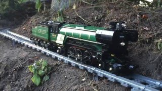 Download Large/Awesome Lego Train Set. Going through the Garden & House 2016 Video