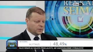 """Download Seimo rinkimų 2016 naktis. Saulius Skvernelis: """"Žinau savas silpnas pozicijas"""" Video"""