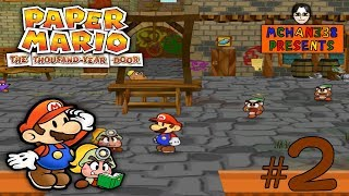 Download Let's Play! - Paper Mario: The Thousand-Year Door Part 2: My College Professor Can't Remember Video