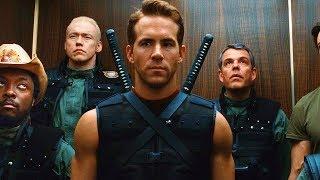 Download Wade Wilson (Deadpool) Deflecting Bullets Scene - X-Men Origins: Wolverine (2009) Movie CLIP HD Video