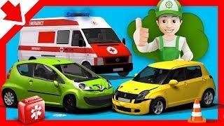 Download Excavator for Children, Backhoe, Cartoons for Kids - Little Smart Kidsp2p2 Video