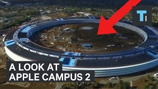 Download Amazing footage of Apple Campus 2 from the air Video