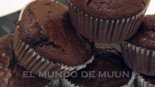Download Receta facil y rapida de Muffins de Chocolate - Explosivamente buenas Video