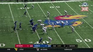 Download Kansas vs. Rutgers Football Highlights Video