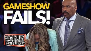 Download BIGGEST GAMESHOW FAILS EVER! Family Feud, Match Game, Celebrity Name Game! Bonus Round Video