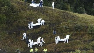 Download Investigation underway in Colombia plane crash Video