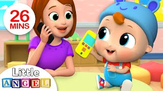 Download Baby's First Words - Mom or Dad? | Nursery Rhymes by Little Angel Video