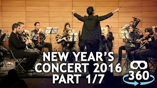 Download Concert 360º #VirtualReality Classical Music New Year's Concert Part 01 - 07 #360Video #VR Video