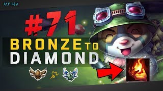 Download STOP PLAYING TEEMO WRONG! - Do This Strat   Teemo Top Chall Build   Bronze to Diamond Episode #71 Video