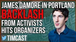 Download James Damore in Portland, Activists Target College Speaking Event Video