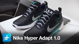 Download Nike Hyper Adapt 1.0 Self Lacing Shoe - Hands On Video