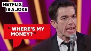 Download John Mulaney Got Cheated Out of $120K   Netflix Is A Joke Video