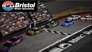 Download Nascar Stop Motion 2018: Race 4 Bristol Motor-Speedway Video
