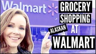 Download GROCERY SHOPPING AT ALASKAN WALMART | NORTHERN MOST WALMART| Somers In Alaska Vlogs Video