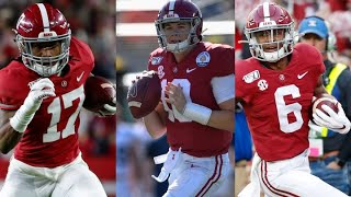 Download Top returning offensive players for the Alabama Crimson Tide in 2020 Video