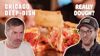 Download Chicago Deep Dish: Pizza or Casserole? || Really Dough? Video