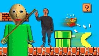 Download BALDI vs Pacman and Super Mario Bros Video