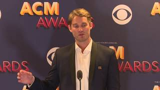 Download Brett Young Talks About His New Male Vocalist of the Year Award at the ACMs Video