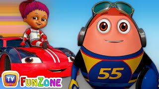 Download Learn Colours with Race Cars & Surprise Eggs Car Toys - ChuChu TV Funzone 3D Motorsports Video