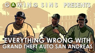 Download Everything Wrong With Grand Theft Auto San Andreas In 9 Minutes Or Less | GamingSins Video