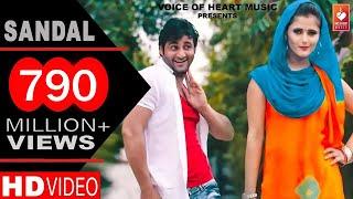 Download ✓ Sandal | सैंडल | Haryanvi DJ Song 2016 | Vijay Varma, Anjali Raghav | Raju Punjabi | VOHM Video