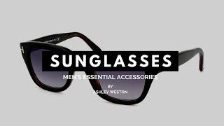 Download The Best Men's Sunglasses For Your Face Shape - Men's Essential Accessories - Aviators, Wayfarers Video
