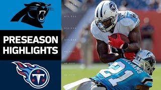 Download Panthers vs. Titans | NFL Preseason Week 2 Game Highlights Video