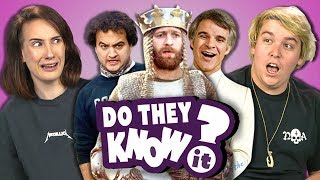 Download DO COLLEGE KIDS KNOW 70s COMEDY MOVIES? (REACT: Do They Know It?) Video