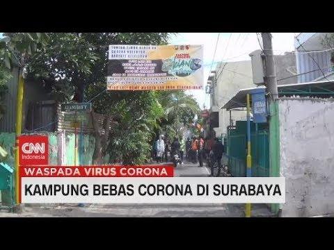 Kampung Bebas Corona di Surabaya