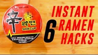Download INSTANT RAMEN NOODLE HACKS Video
