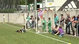 Download 3. OMV Rapid-Nachwuchsturnier: Fußball-Knirpse ganz groß Video