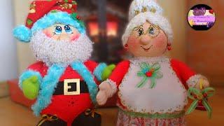 Download Mama noel dulcera hecha con globos y cartón de huevo (Moldes Gratis) | Epdlm Video