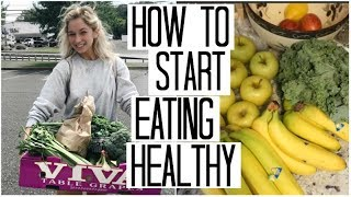 Download How to Start Eating Healthy | Healthy Eating on a Budget | Detoxing Green Juice Recipe Video