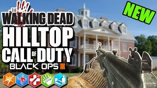 Download NEW ″THE WALKING DEAD ZOMBIE MAP″ HILLTOP! (Black Ops 3 Custom Zombies) Video