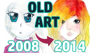 Download REACTING TO MY OLD ART | PART 1 | Middle School Video