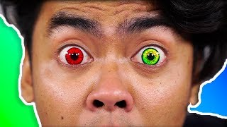 Download I Tried Colored Contacts For The First Time! ~ Guava Juice Video