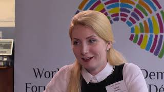 Download Interview with Anastasiia Popsui, Acting Mayor, Secretary of Irpin City Council, Ukraine Video